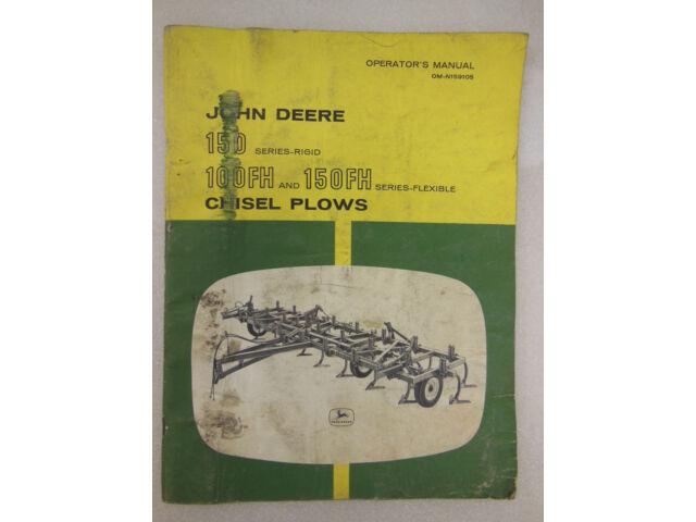 JOHN DEERE 150 Series-Rigid 100FH & 150FH Chis