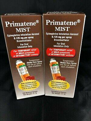 Primatene MIST, 160 Metered Sprays/320 Total, Exp. 6/21^^  (2PK)