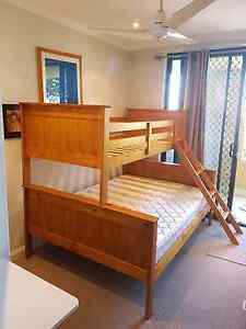 Wooden Bunk Beds, Double bottom and single top. Randwick Eastern Suburbs Preview