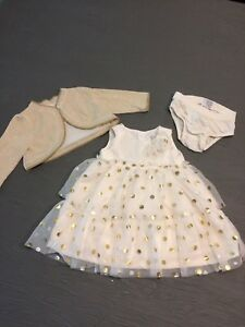 Infant Girls Party Dress 0-3 months