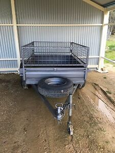 6x4 Trailer with cage Bywong Queanbeyan Area Preview