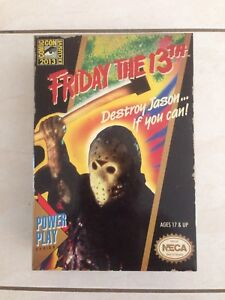 NECA SDCC 2013 FRIDAY THE 13TH JASON VOORHEES EXCLUSIVE FIGURE