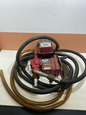 Tuthill Fill-rite Fuel Pump 1200a W 800c Meter Transfer Hose
