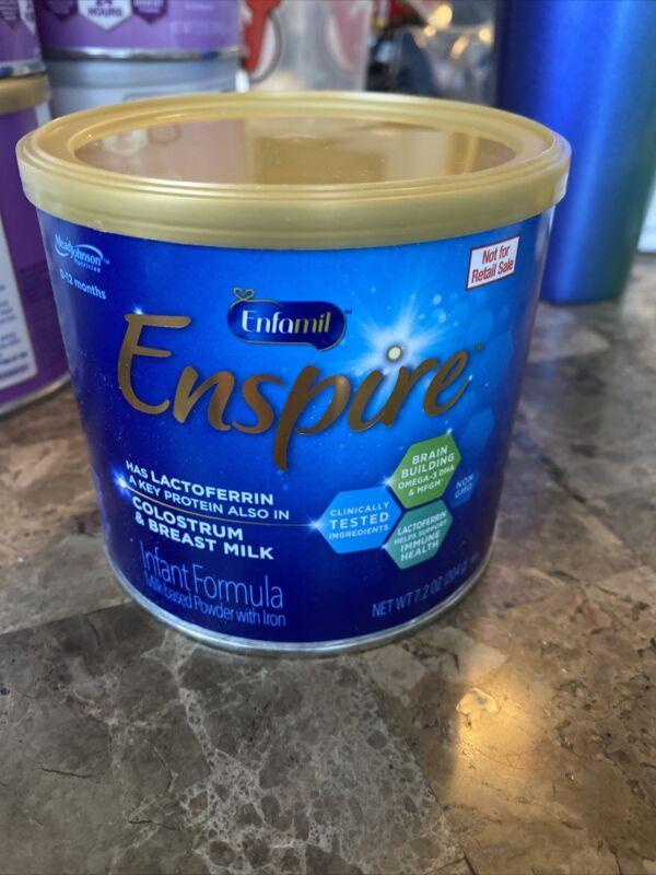 New Enfamil Enspire Infant Formula  7.2 oz Exp. Apr 2022