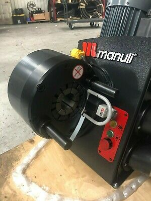 Brand New Manuli Hydraulic Hose Crimper With Dies 110 Volts Free Shipping