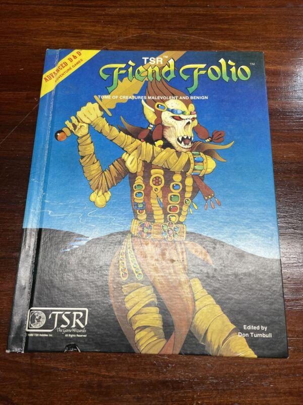 Advanced Dungeons & Dragons Friend Folio