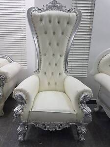 King Chair, Throne Chair, Weddings Westmead Parramatta Area Preview