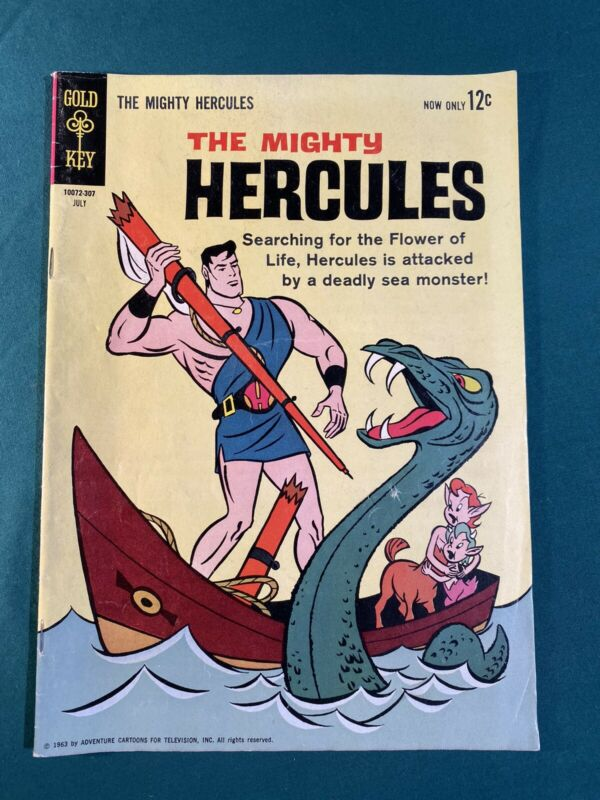 THE MIGHTY HERCULES  #1 (GOLD KEY, 1963) Silver Age Comic Book