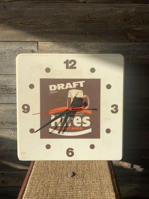 Vintage Hires Root Beer Clock