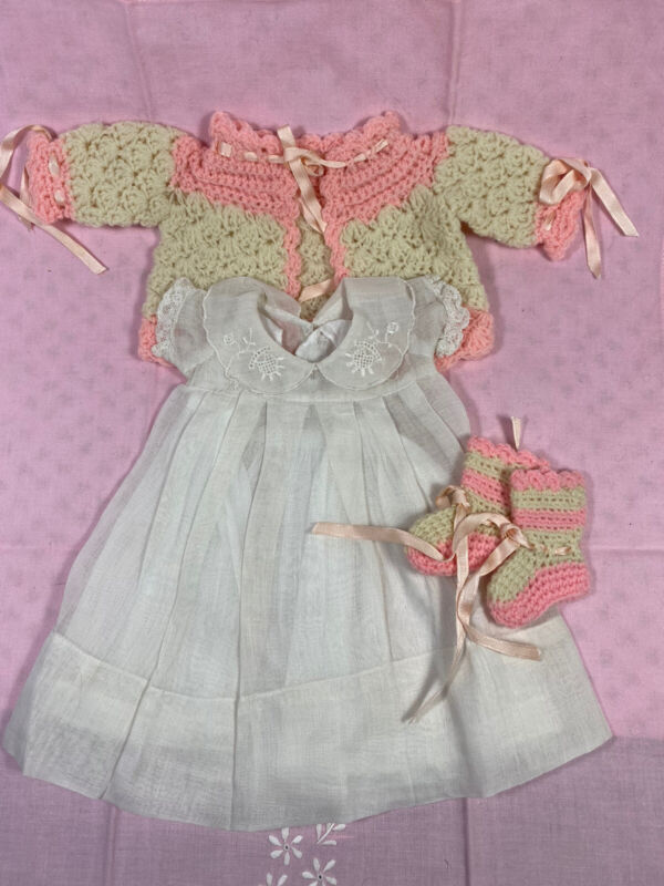 Circa 1930's Original Effanbee Dy Dee Baby Outfit