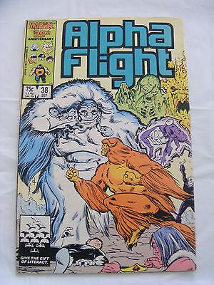 ALPHA FLIGHT #38 SEP 86 MARVEL COMICS