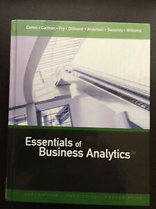Essentials of Business Analytics Textbook for sale