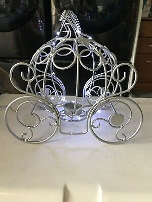 Princess Carriage table centerpiece Birthday Party Wedding Disney with LED light - Princess Carriage Centerpiece