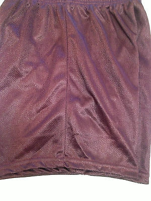 Youth Yukon Micro Mesh Short  Fit2Win Large (Maroon)  $9.95 *New*