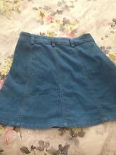 Denim button up skirt Balgownie Wollongong Area Preview