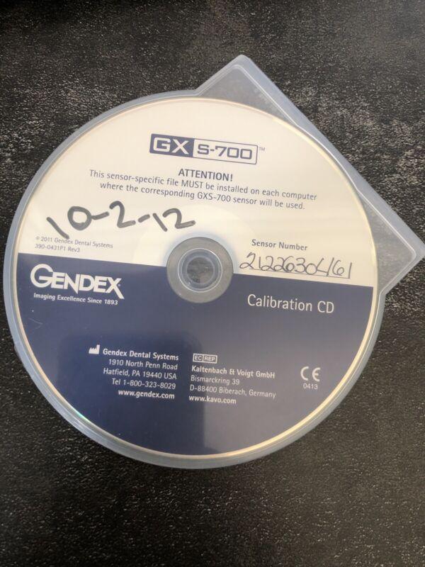 Gendex GXS-700 size 2 dental x-ray intraoral Sensor * Read description*