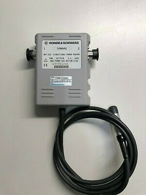Rohde Schwarz Nrt-z43 Directional Power Sensor 400 Mhz To 4 Ghz 30 W75w
