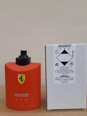 ferrari red mens aftershave 125ml spray