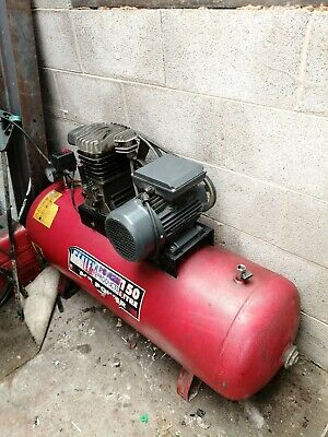 Air Compressor large industrial single phase Sealy 150 ltrs