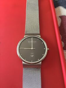 Skagen men's watch - stainless steel  35mm