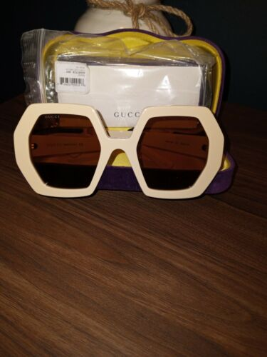 NEW GUCCI GG0772S OO2  OVERSIZED 100% AUTHENTIC SUNGLASSES