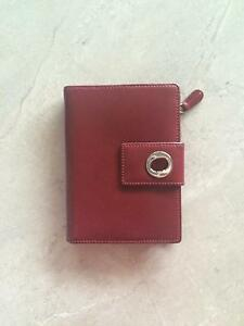 Oroton Red Leather Wallet Maitland Maitland Area Preview