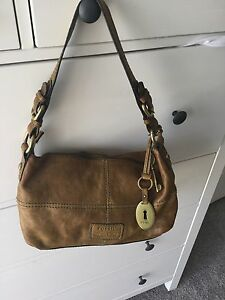 Fossil Leather bag vgc Birkdale Redland Area Preview