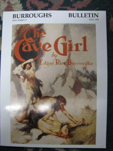 Burroughs Bulletin New Series # 7 July 1991-Edgar Rice Burroughs