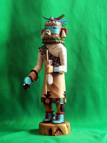 Hopi Kachina Doll - Koroasta, the Dress Kachina by Martin Dallas - Superb!