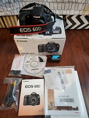 Canon EOS 60D body only - USED