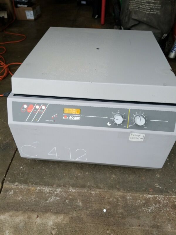 Used - Jouan C412 Counter Top Centrifuge C 4-12