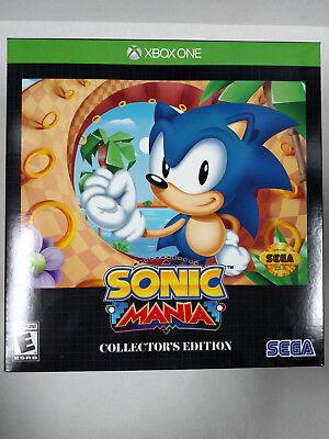 Sonic Mania  Collectors Edition  Microsoft Xbox One  2017    New