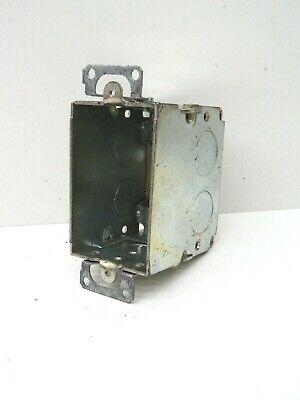 10-pack Bowers Galvanized Steel 1-gang Gangable Switch Box 2 X 3