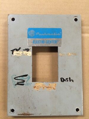 Pushmatic Ite Bulldog Gould 4 Space Disconnect Breaker Panel Cover