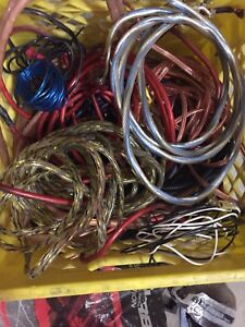 Box of car stereo wiring $25