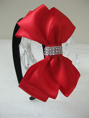 Girl Lady Valentines Day XMAS Prom Rhinestone 5