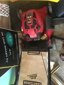 Craftsman 6.75 hp turbo cooled lawnmower
