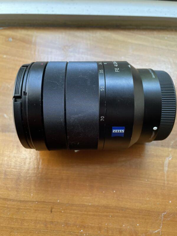 Sony-Zeiss 24-70mm f/4 za oss lens