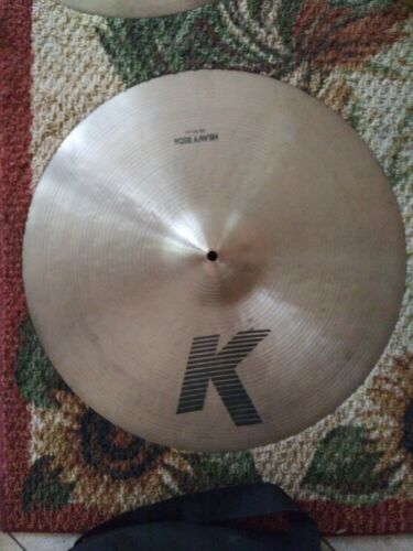 """Zildjian 20"""" K  Heavy Ride Best sounding Cymbals in the world warm and expressi"""