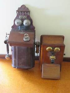 Two antique Telephones Iluka Clarence Valley Preview
