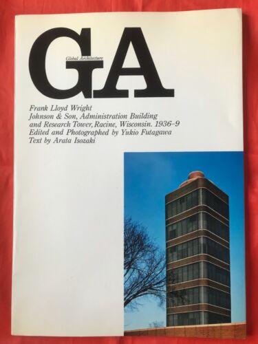 GA Global Architecture - Frank Lloyd Wright. Japanese and English.