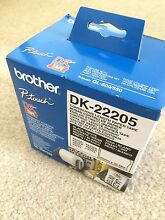 brother label dk-22205 for ql-500 ql-550. brand new unopened Ryde Ryde Area Preview