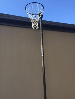 Netball hoop with base for sale Ormiston Redland Area Preview