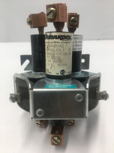 Durakool 3060APS24DC Mercury Relay Contactor 3 Pole 60A (USED)