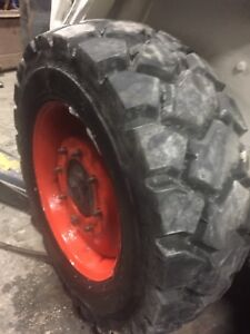 Bobcat tire repair