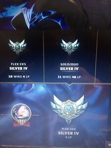 Selling league of legends account