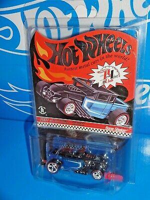 Hot Wheels 2007 Red Line Club sELECTIONs Series Bone Shaker Black & Blue #03170