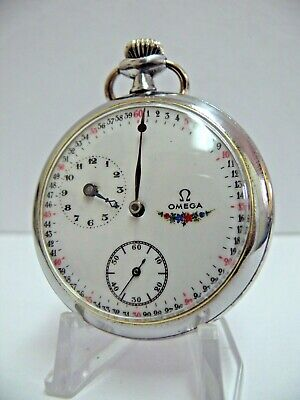 Rare Ω OMEGA Swiss REGULATEUR Vintage Gents pocket watch *SERVICED*