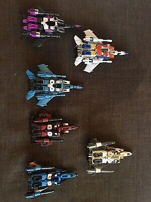 Transformers classics Seeker Lot 6 figures complete Prime Starscream Thrust
