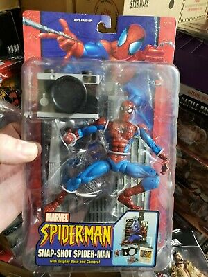 Toybiz Marvel Legends Spider-Man Classics Snap-Shot camera Spidey action figure